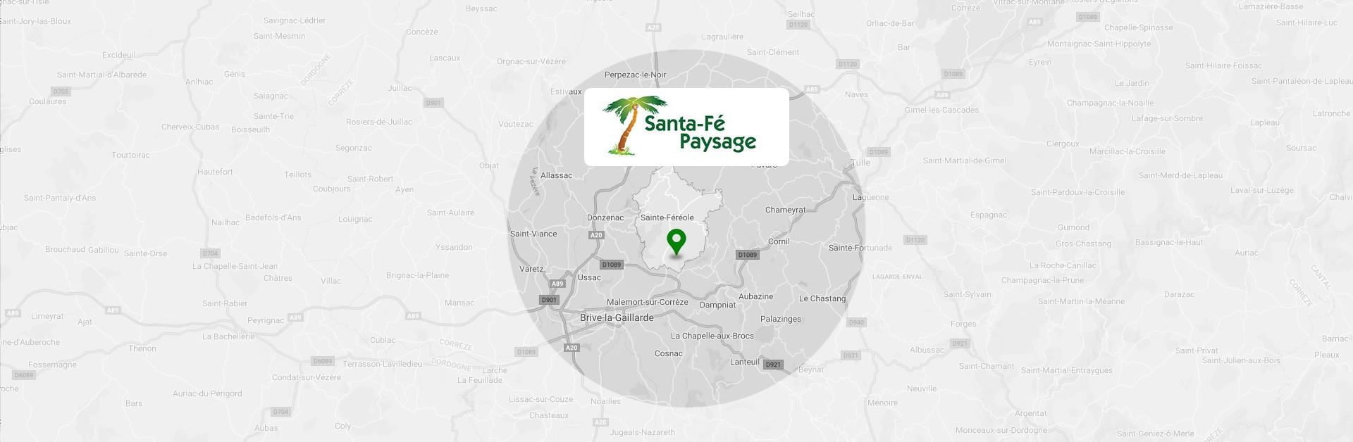 Santa Fe Paysage est une entreprise d'aménagement paysager proposant des prestations d'entretien de jardin près de Brive-la-Gaillarde et Tulle. Basés à Sainte-Féréole, nous accomplissons des missions d'élagage, de tonte et d'abattage.